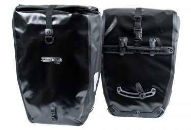 ortlieb paire de sacoches porte bagage arriere back roller classic noir