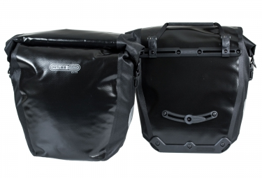 ORTLIEB Pair Of Rear Trunk Bag BACK-ROLLER CITY Black