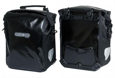 ortlieb paire de sacoches porte bagage avant front roller city noir