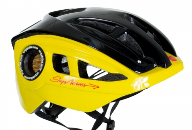 Urge Supacross Helmet - Black Yellow
