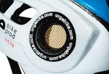 casque urge supacross blanc bleu l xl 57 59 cm