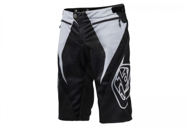 short troy lee designs sprint reflex noir blanc 36