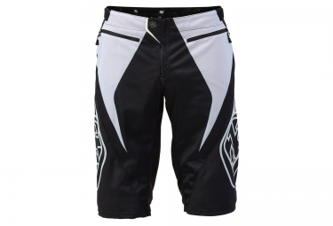 TROY LEE DESIGNS 2016 Short SPRINT REFLEX Noir Blanc