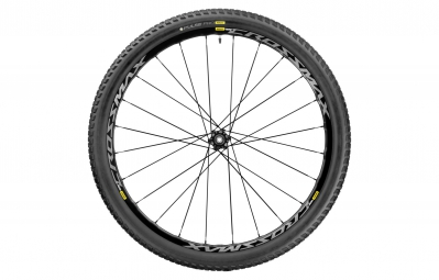 Mavic roue arriere crossmax elite 27 5 boost 12x148mm corps shimano sram pneu pulse pro 2 25 noir