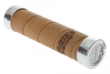 BROOKS Grips SLENDER GRIPS 130mm Old Brown
