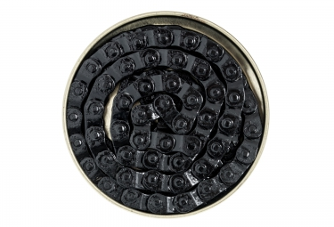 Gusset Chaine demi maillon montage 1/8 Noir Single Speed