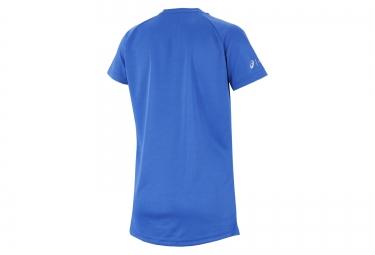 ASICS T-Shirt Schneider Marathon de Paris Bleu Femme
