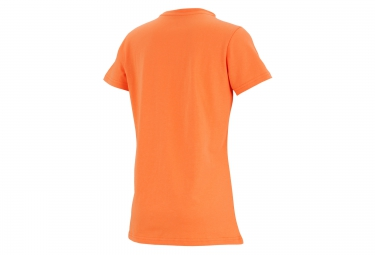 ASICS T-Shirt Schneider Marathon de Paris Orange Femme