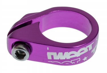 spank collier de selle ecrou tweet tweet purple 29 8 mm violet