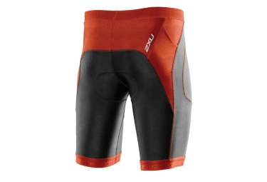 2XU Short de Triathlon 9'' PERFORM TRI Noir Rouge