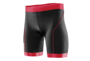 2xu short de triathlon active tri noir rose femme l