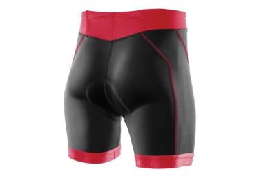 2xu short de triathlon active tri noir rose femme l