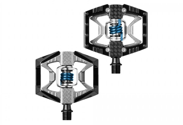 CRANKBROTHERS Pedals DOUBLE SHOT Black Silver Blue