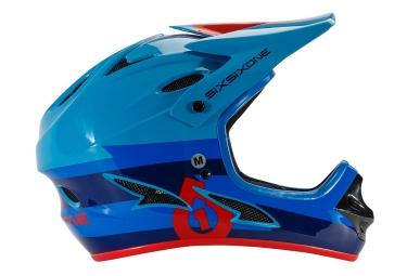 661 sixsixone casque integral comp bleu rouge 2017 xl 60 62 cm
