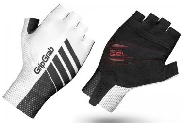 Gripgrab gants courts aero tt blanc gris xl
