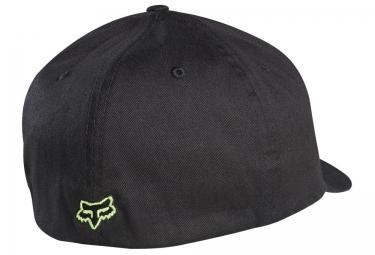 FOX Casquette Flex-Fit FLEX 45 Noir Vert