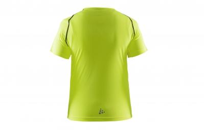 craft maillot enfant precise jaune fluo 158