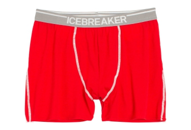 ICEBREAKER Boxer ANATOMICA Rouge