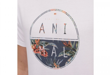 ANIMAL T-Shirt LAMARY Blanc