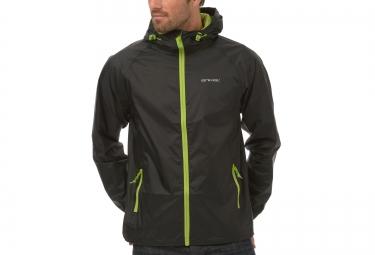 animal veste impermeable packed noir s