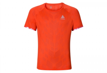 Odlo t shirt technique yocto orange m
