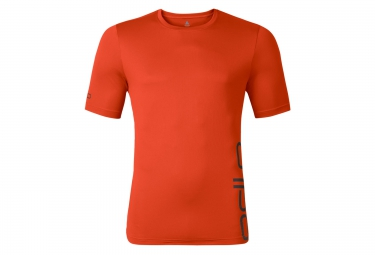 Odlo t shirt manches courtes event t orange xl