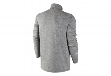 pull homme nike dri fit element gris m