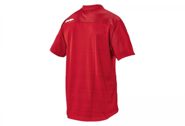 troy lee designs maillot manches courtes skyline divided rouge s
