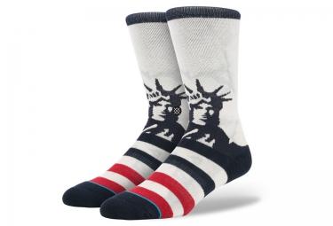 Stance paire de chaussettes lady liberty blanc 42 45