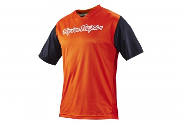 TROY LEE DESIGNS Maillot Manches Courtes SKYLINE Orange