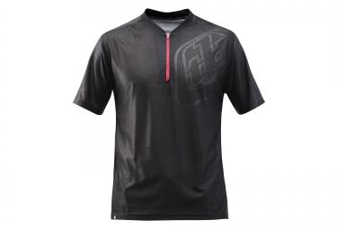 troy lee designs maillot manches courtes skyline race noir rouge s