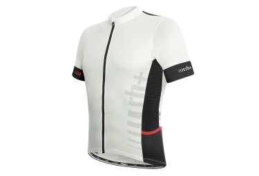 zero rh maillot manches courtes logo evo noir blanc xxl