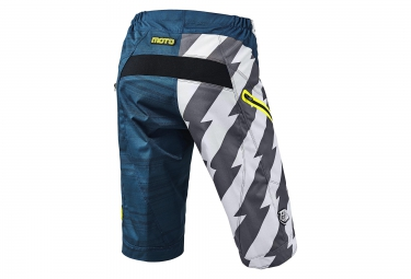 troy lee designs 2016 short moto bleu blanc 30