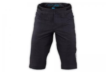 short troy lee designs avec peau skyline race noir bleu 36