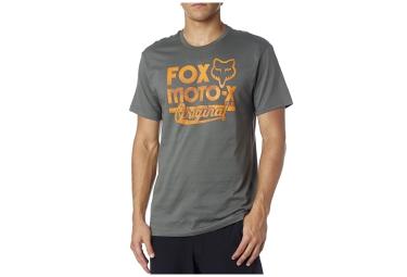 fox t shirt scripted vert xl