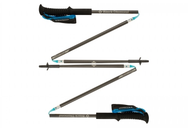 black diamond batons de trail distance carbon z gris 130