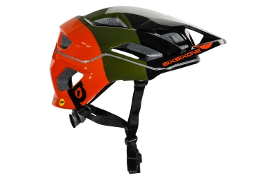 Casque 661 SIXSIXONE EVO AM MIPS 2016 Orange Vert Noir