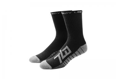 troy lee designs x3 paires de chaussettes factory noir 44 46