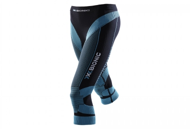 x bionic short de compression effektor noir bleu femme l