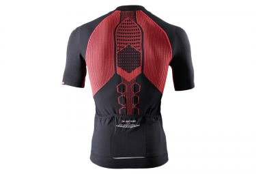 X Bionic Short Sleeve Jersey Lamborghini Bike Black Red Alltricks Com