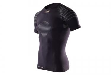 maillot manche courtes x bionic invent noir l