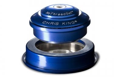 chris king jeu de direction inset 2 semi integre conique bleu