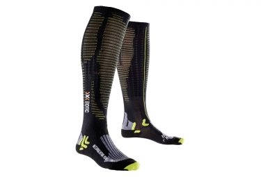 Calcetines de compresión X-BIONIC EFFEKTOR PERFORMANCE Black Green