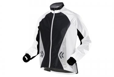 X bionic veste coupe vent spherewind running blanc noir s