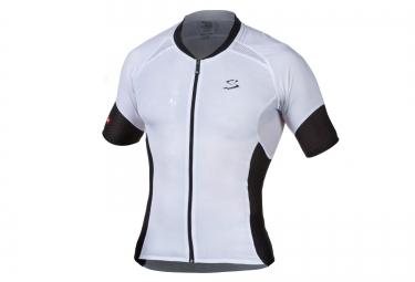 Spiuk maillot manches courtes elite blanc noir s