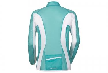 vaude veste coupe vent femme pro windshell vert s