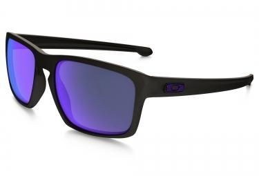 OAKLEY LunettesSLIVER Noir - Violet Polarisé Ref OO9262-10