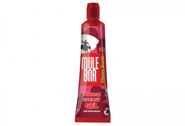 Mulebar gel energetique cherry bomb cerise 37 g
