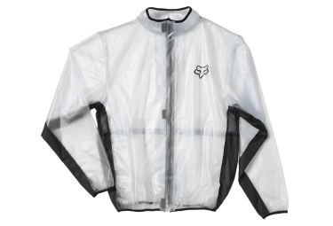 fox veste enfant fluid mx transparent kid m