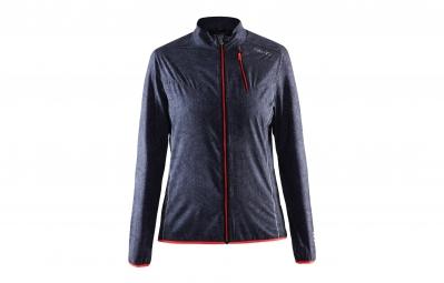 Craft veste femme mind gris raye rouge s